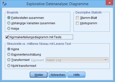 Explorative Datenanalyse: Diagramme (mit Auswahl)