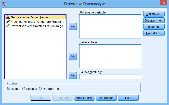 Korrelation: Explorative Datenanalyse