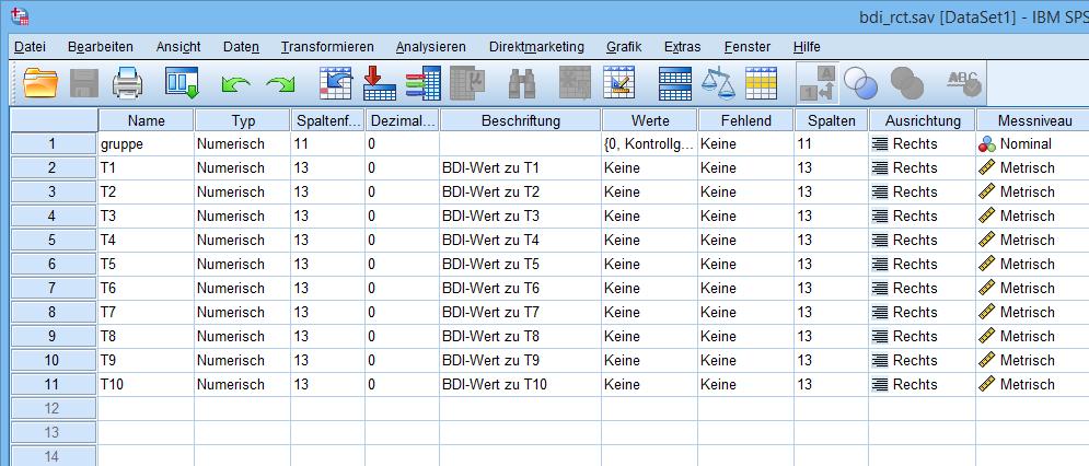 Mixed ANOVA: Datafile