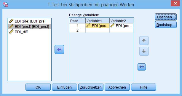 gepaarter t-Test (ausgefüllt)